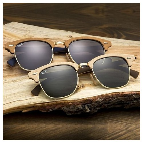 okuliare Ray-Ban Clubmaster Wood