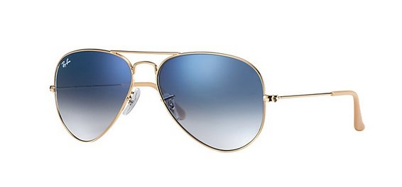 Ray Ban 0RB3025 001/3F AVIATOR LARGE METAL