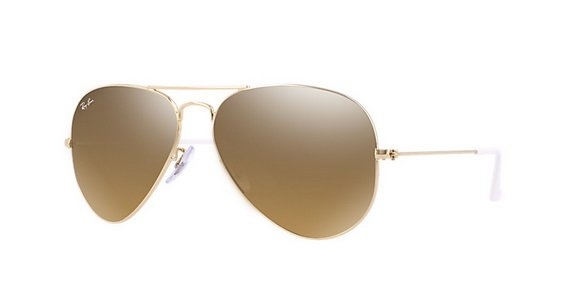 Ray Ban 0RB3025 001/3K AVIATOR LARGE METAL